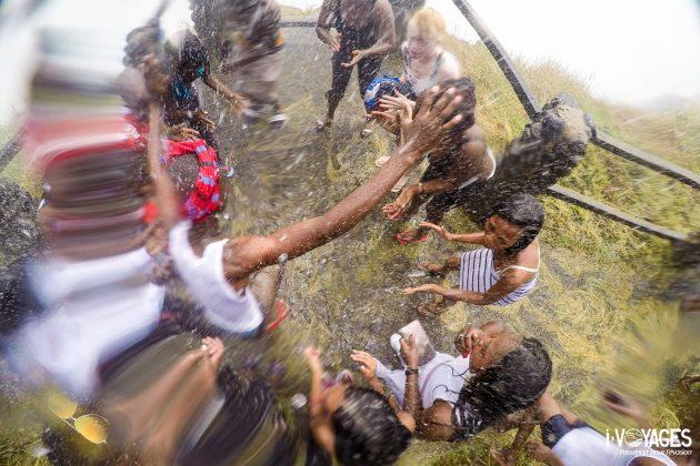 Danse à Victorial Falls