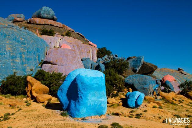 Rochers bleus de Tafraoute