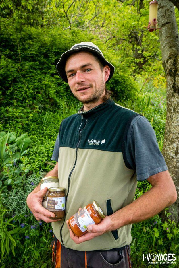 Jonathan Villien, producteur de châtaignes