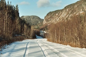Route vers le Camp des écorces...