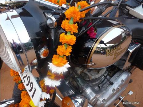 Rajasthan à moto