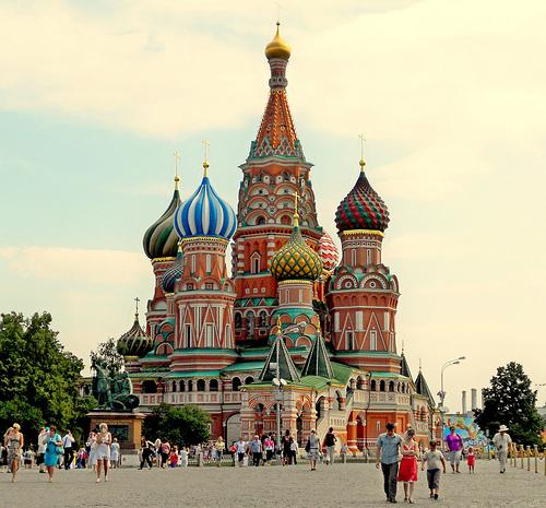Moscou à partir de 278€ avec aigle azur