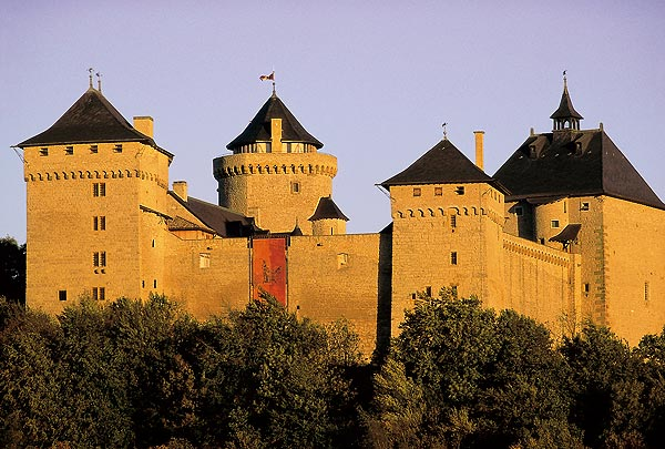 Lorraine : Château Malbrouck - © CDT Moselle