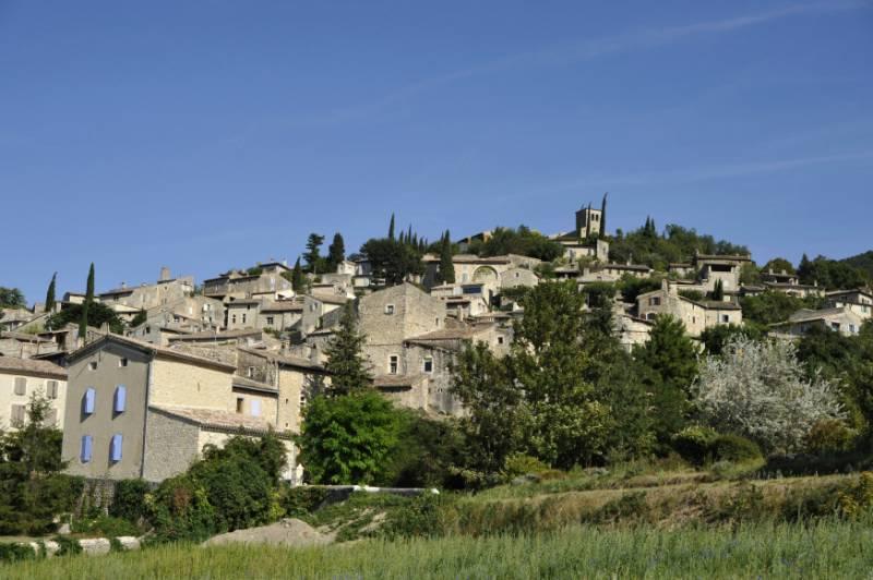 Mirmande, village perché - Vallée de la Drôme © RA Tourisme/M. Rougy