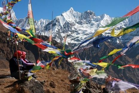 Sanctuaire des Annapurnas