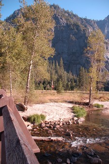 Sentinel Birdge et Yosemite Chapel