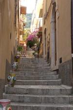 Une des nombreuses ruelles de Taormina