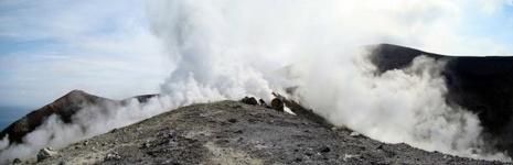 Paysage volcanique des îles Eoliennes