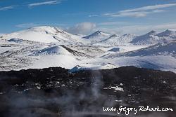 Islande - glacier Mýrdalsjökull
