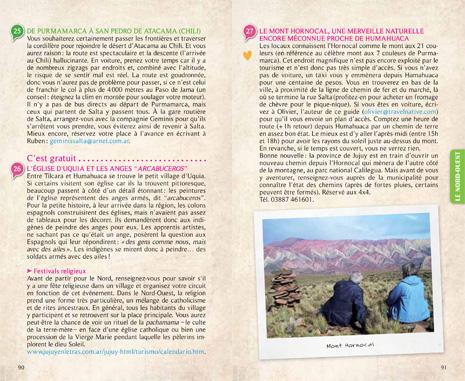 Extrait du guide Tao Argentine