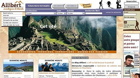 Nouveau site internet Allibert