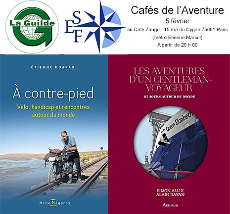 Cafés de l'Aventure du 5 février