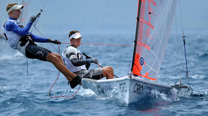 ISAF Youth World Sailing Championship © Sime Sokota