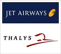 Partenariat Jet Airways et Thalys