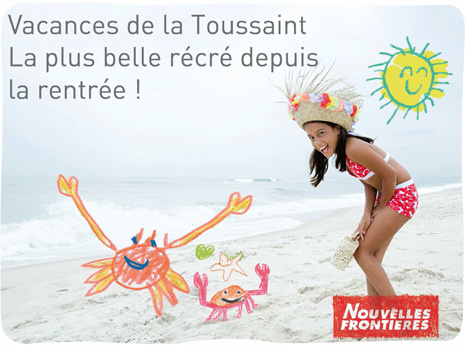 Nouvelles Frontières : Bons plasn de la Toussaint