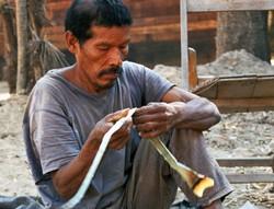 Indien totobiegosode. Son territoire est illégalement déboisé par des fermiers brésiliens. © Survival