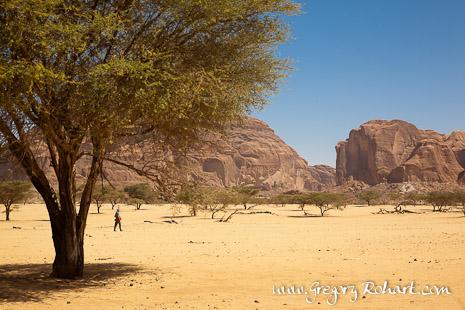 Randonnée dans l'Ennedi