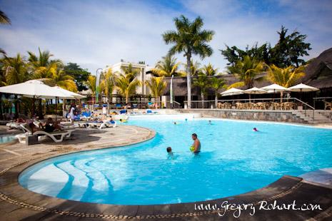 Piscine de l'hôtel Club Marina