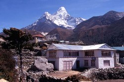 Ama Dablam - vu de Pangpoche