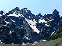 Pic Coolidge, Pointe de avalanches, Fifre et Pic Lory
