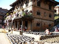 Bhaktapur - Square des potiers
