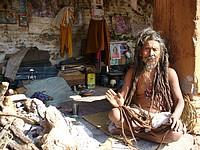 Pashupatinath - sadhu