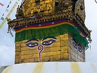 Stupa bouddhique de Swayambhunath