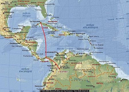 Arrivée à Cuba