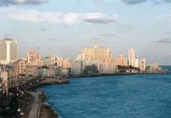 Malecon, le font de mer de la Havane