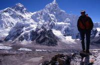 Du sommet du Kala Patar, Everest, Combe Ouest et Nuptse