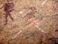 Dame Blanche - peinture rupestre