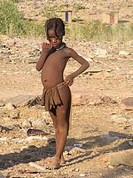 Jeune Himba - Namibie