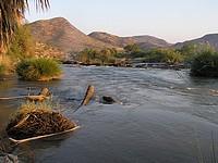 Rivière Kunene - Namibie