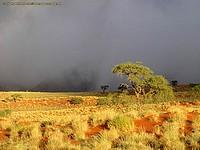 Contraste crépusculaire dans la Namid Rand Nature Reserve