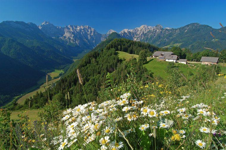 Solčavsko : 3 vallées de toute quiétude en Slovénie