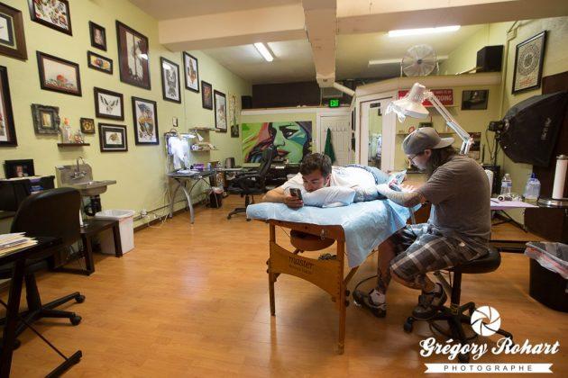 Chez le tatoueur