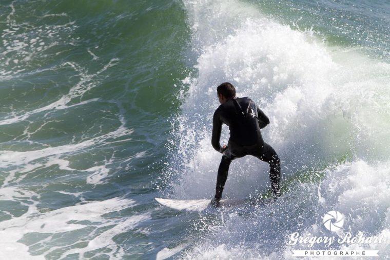 Surf à Santa Cruz