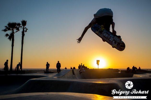 Skate park de Venice Beach
