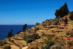 Les eaux paisibles du lac Titicaca