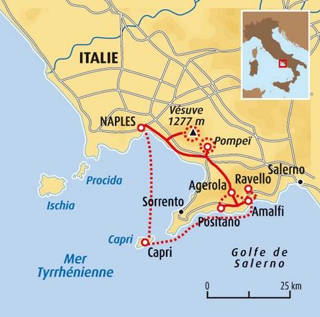 Naples Et La C 244 Te Amalfitaine En Famille