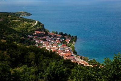 Galicica et le monastère de Sveti Naum