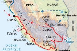 Pérou : du pacifique à l'Amazonie via les Andes