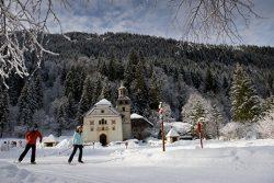 Les Contamines : télémark, ski et raquettes