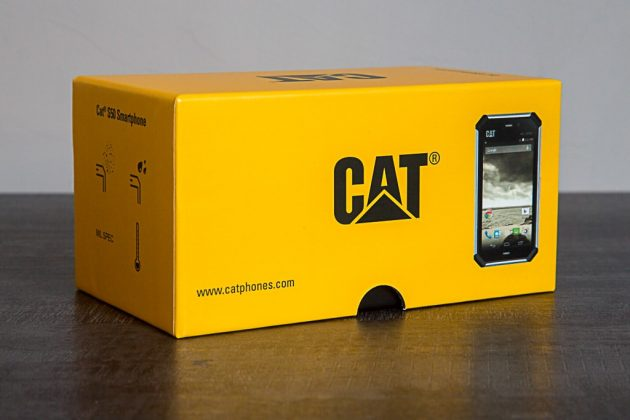 Le Cat S50 à sa réception