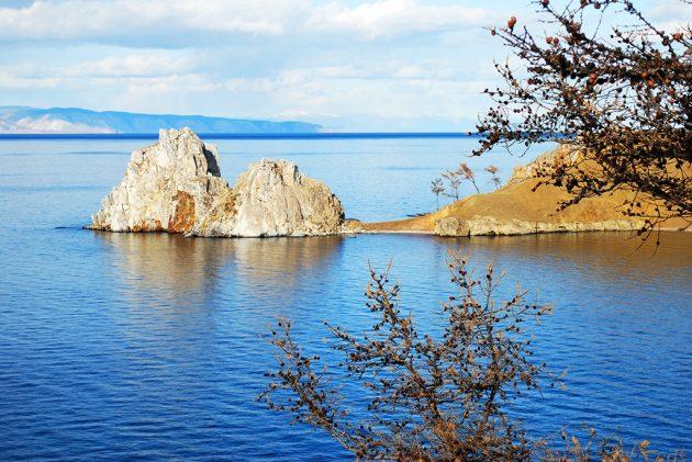 Falaises de l'île d'Olkhon