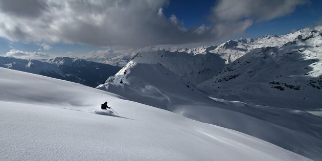 De belles pistes, et surtout des hors-pistes exceptionnels © PASCAL ARPIN