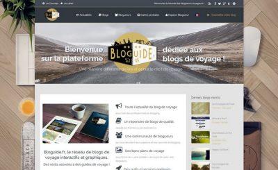 Bloguide : la plate-forme collaborative des blogs voyage