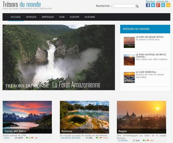 2801_Trésors du Monde Homepage