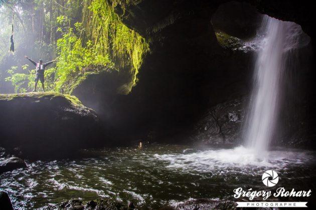 La fameuse cascade de la grotte de la splendeur.