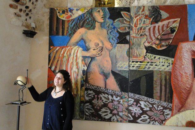 Personnalité excentrique et collectionneuse avisée, l'artiste Ilana Goor a créé un musée étonnant dans sa demeure de Jaffa.